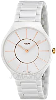 Gifts and Jewels Co. - Rado Rado Verdadero Blanco Dial Cerámica Damas Reloj R27957102