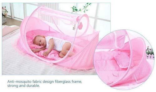 Purchase 4pcs Portable Type Comfortable Babies Sealed Mosquito Net Mattress Pillow Mesh Bag Mattress...