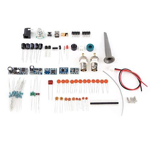 Diagnóstico estándar PC DIY Kit Programa Generador Data Logger Osciloscopio Digital Almacenamiento Osciloscopio para la Industria con LCD 20MHz Sonda Enseñanza Set