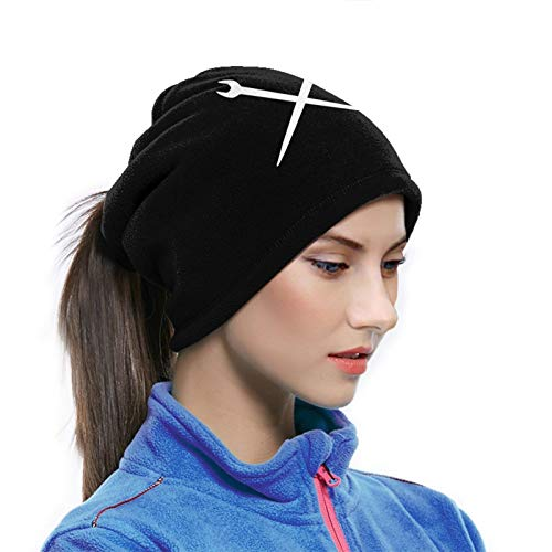 Ironworker Crossed Tools Winter Neck Gaiters For Men Women Reusable Face Mask Cover