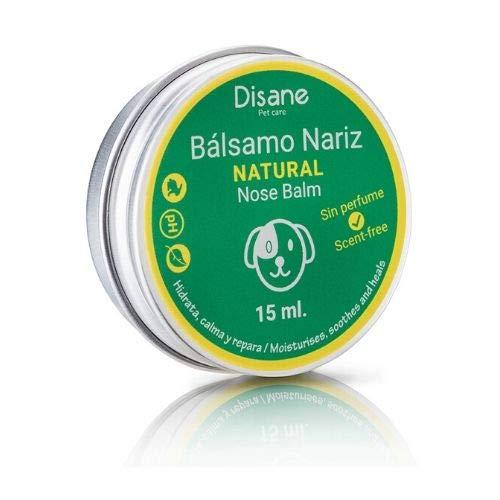 DISANE Bálsamo Nariz Perro Natural 15ml | Crema Nariz Perro | Hidrata, Calma y repara la trufa Seca y Agrietada del Perro | Libre de fragancias y Aromas