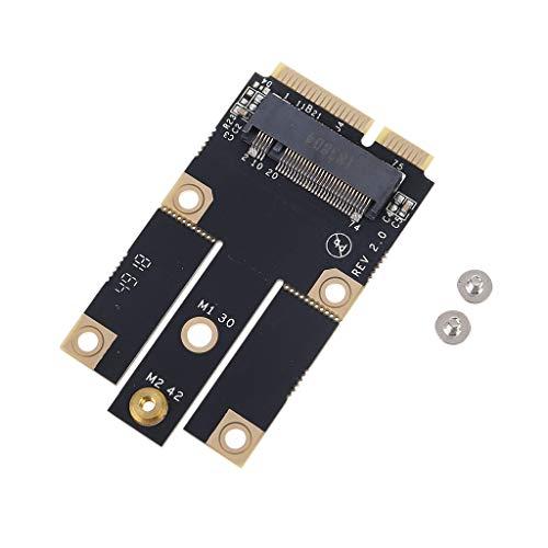 Adaptador NGFF M.2 2242 a Mini Pcie 3G 4G para ranura de tarjetas SIM para EM7355 MU736 Kit de Ontracker