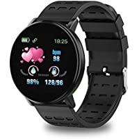 GadgetCenter Fitness Tracker Watch with Heart Rate Blood Pressure Monitor