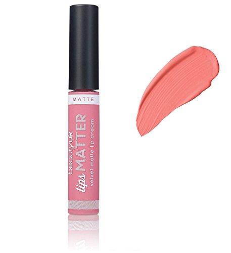 Beauty UK Long Lasting Matte Cream Lipstick - Lips Matter - No.7 Mauve Your Body