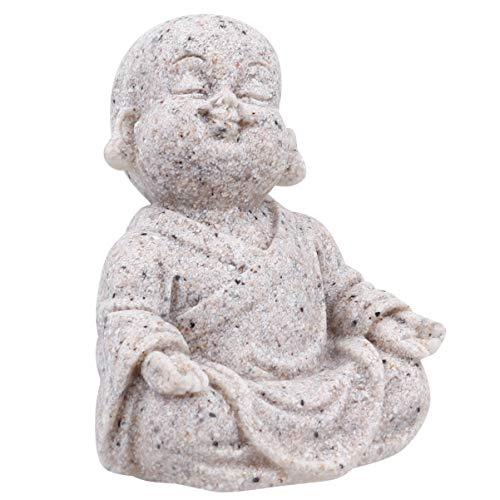 POPETPOP Estatua de Buda Feliz Estatuilla de Buda Riendo Estatua de Maitreya para Adornos...