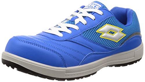 [ロットワークス] LW-S7007 JSAA A種認定 プロテクティブスニーカー 安全靴 作業靴 鋼鉄製先芯 メンズ ブルー 26 cm 2E