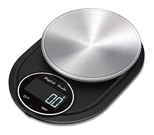 Báscula De Bolsillo Digital De Alta Precisión Báscula De Cocina Electrónica Mini Báscula De Gramo De Bolsillo De Joyería Multifunción Con Pantalla Lcd 0.1G / 10Kg 914 (Tamaño: 5Kg / 1G)