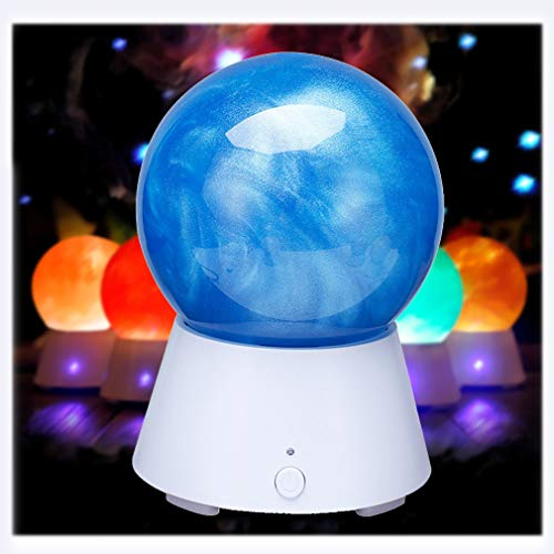 TIM-LI Altavoz Bluetooth Inalámbrico Portátil con 3D Planet Night Light, USB Recargable...