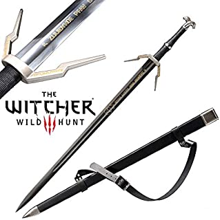 Yongli Sword The Witcher 3: Wild Hunt Geralt of Rivia Ciri Cosplay Replica Sword Game Stainless Steel