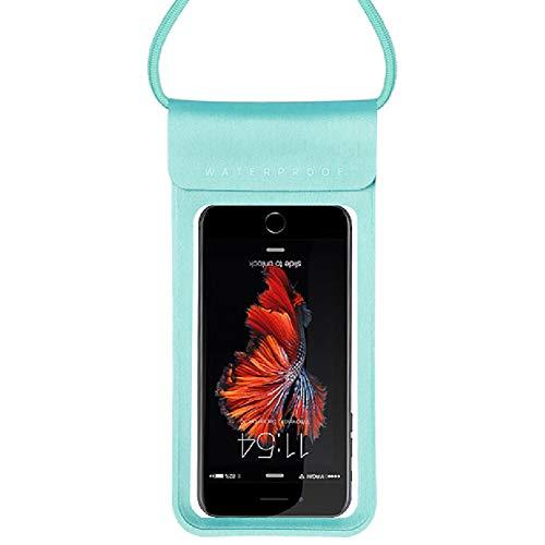 HWYP wasserdichte Handy-Tasche, schwimmend, mit Armband und Umhängeband, S-4