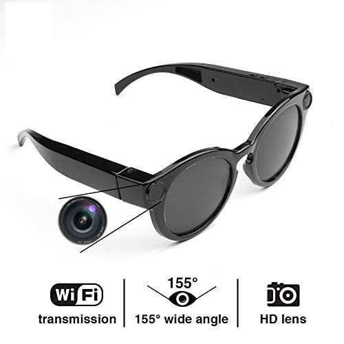 Great Features Of DZSF Smart Glasses WiFi Camera HD Glasses Eyewear DVR Video Recorder 1080P Snapsho...