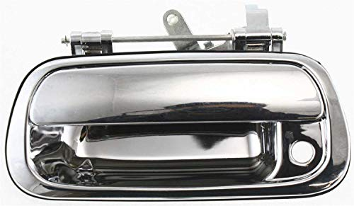 Garage-Pro Tailgate Handle Compatible with Toyota Tundra 2000-2006 Outside All Chrome