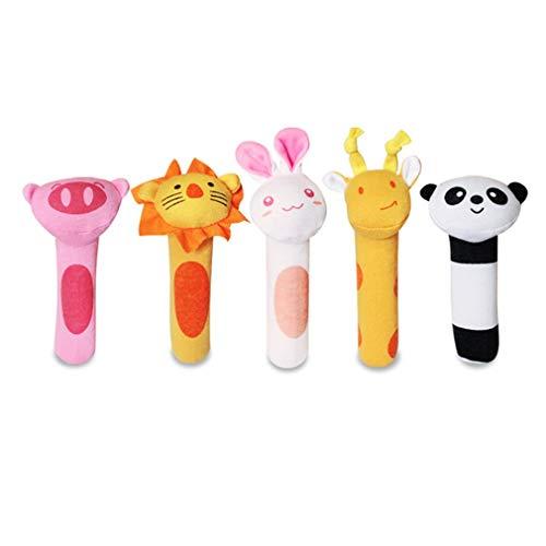 HermosaUKnight Cuidado Dental Cepillo de Dientes para bebés Cepillo para Dedos de Silicona para niños Claro ()