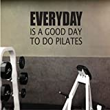 Wangyy Jeden Tag Ist Ein Guter Tag Zu Tun Pilates Vinyl