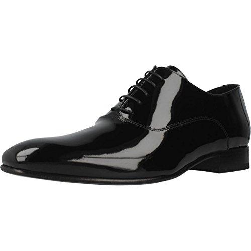 Sergio Serrano Zapatos Cordones 2351 Hombre Negro