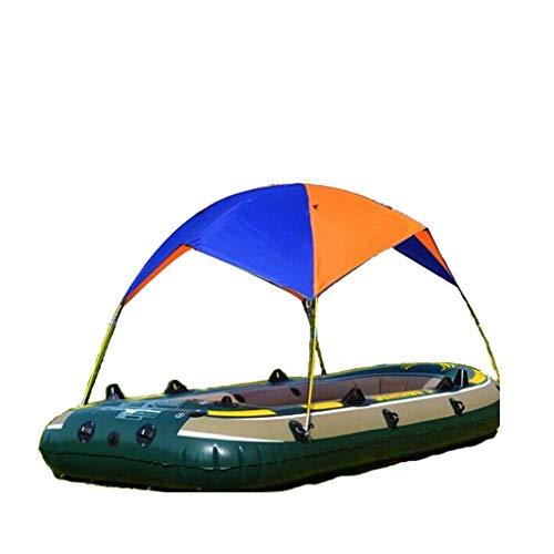 planuuik Portátil Durable Inflable Pesca Sombrilla Toldo de Lluvia Velero Toldo Top Barco Refugio Kayak Kit Accesorios