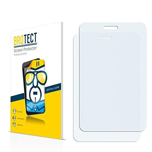 2X BROTECT HD Clear Bildschirmschutz Schutzfolie für Point of View Mobii Onyx P527 (kristallklar, extrem Kratzfest, schmutzabweisend)