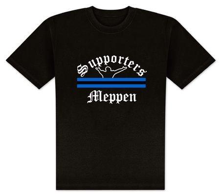 World of Football T-Shirt Supporters-Meppen - XL