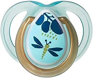 Tommee Tippee Closer to Nature MODA Soother 0-6 Months - Blue