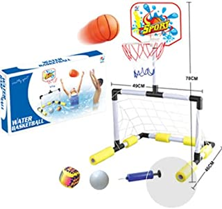 ULTIMAX Children Basketball and Football Net Kids Water Sport Summer Swimming Pool Family Play Game Water Basketball Sport...