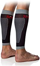 Calf Compression Sleeves for Legs | Shin Splints Leg Compression Socks for Women & Men |Recovery from Sports Injury + Pain Relief | Calf Guard for Running L/XL