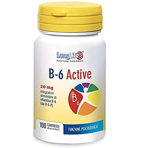 Longlife B-6 Active 20Mg - 40 Gr