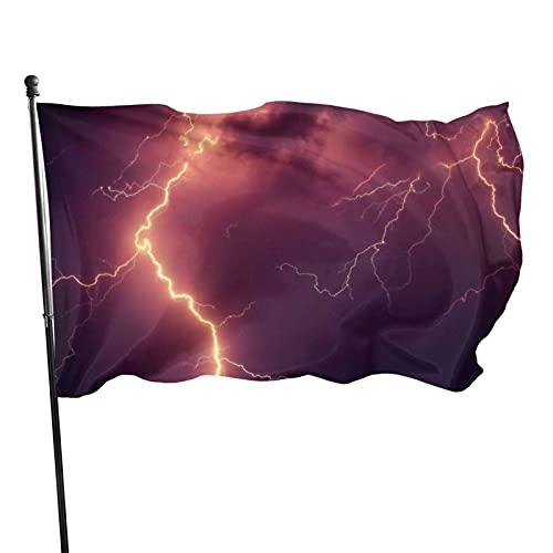 GOSMAO Bandera de jardín Luz de Colores Vivos y Resistente a la decoloración UV Bandera de Patio de Doble Costura Bandera de Temporada Banderas de Pared 150X90cm