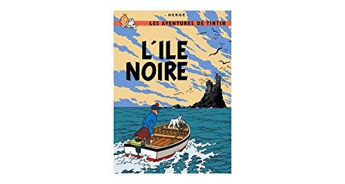 Póster Moulinsart álbum de Tintín: La isla negra 22060 (70x50cm)
