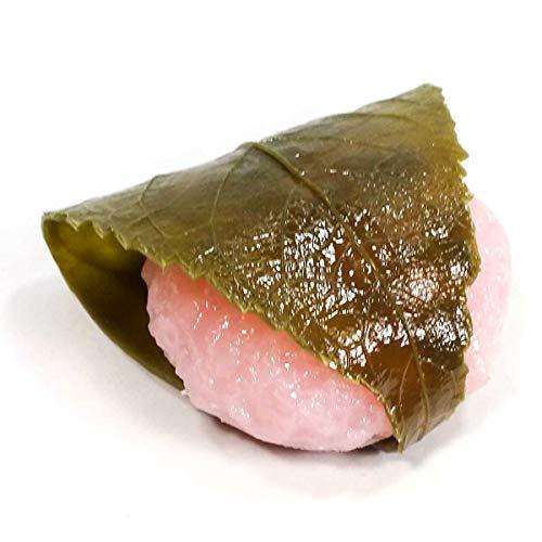 食品サンプルマグネット 食べちゃいそうな 桜餅 081M