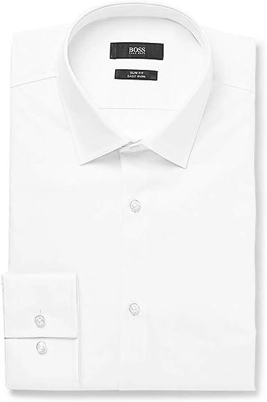 BOSS Hugo Boss Slim Fit camisa de Jenno Blanco