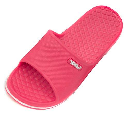 Aqua-Speed Cordoba Pool Zapatos, Infantil, Rosa y Blanco, Talla 32