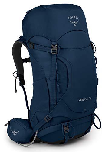 Osprey Kestrel 38 Men Hiking Pack: Loch Blue