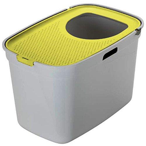 Gatto lettiera centro grande entrata top extra profondo XL High Sided coperto igienica