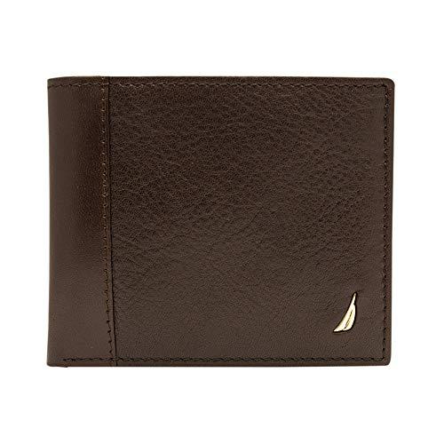 5. Nautica Men's Leather Passcase Wallet