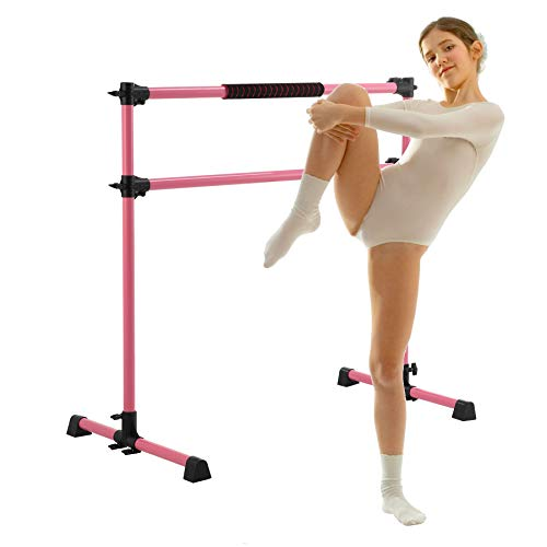 Z ZELUS Portable Ballet Barre for Home Gym | 1.2m Adjustable Gymnastics Bar...