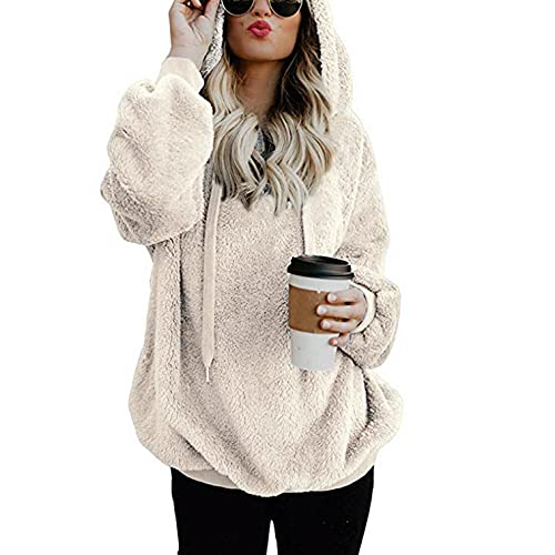 Sweaters for Women 2021,Womens Tops Dressy Casual,Crewneck Sweatshirts for Women Hooded Solid Hoodies Loose Casual Sweaters Blouses