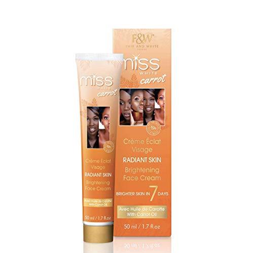 Fair and White Miss Carrot Face Cream - 1.7 Fl oz / 50 ml , with...