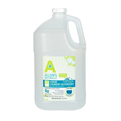 Allens Naturally Liquid Soap Laundry Detergent 1 Gallon/ 128 fl oz/ 3.78 Liters