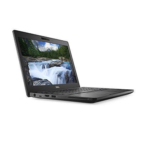 "Dell Latitude D5V23 Notebook (Windows 10 Pro, Intel i5-8250U, 12.5"" LCD Screen, Storage: 256 GB, RAM: 8 GB) Black"