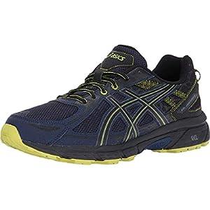 ASICS Men's Gel-Venture 6 Running Shoe, Indigo Blue/Black/Energy Green, 10.5 Medium US