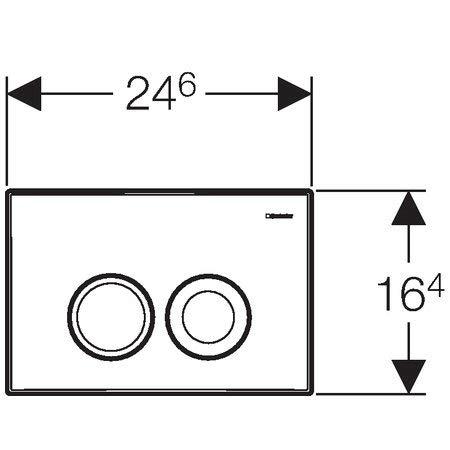 Geberit Duofix Vorwandelement UP 100 + Ideal Standard WC, Spülrandlos mit LotusClean Beschichtung + Absenkautomatik + Delta 21 Drückerplatte + WC Deckel - 9