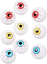 Greenbrier Eyeball ping Pong Balls for Halloween or Table Tennis, 2 Colors, 24 PCS Total