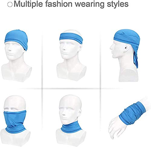 Neck Gaiter Face Scarf Mask-Dust, Sun Protection Cool, Breathable Fishing Hiking Running Cycling