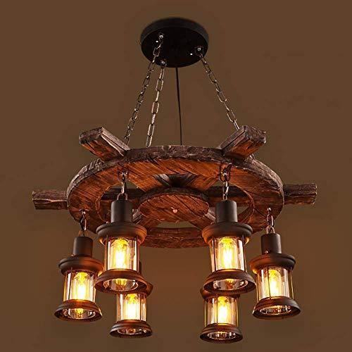 Casual Cadena de Cuerda Retro lámpara de luz Loft ático de la Personalidad Creativa Industrial Retro Luz Edison la Bombilla de la Sala de Estar Estilo Americano HAODAMAI