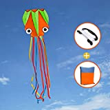 Joy-Jam Toys for 4-10 Year Old Boys Girls Huge Octopus Kite for Children and Adults Outdoor Games Summer Toys...