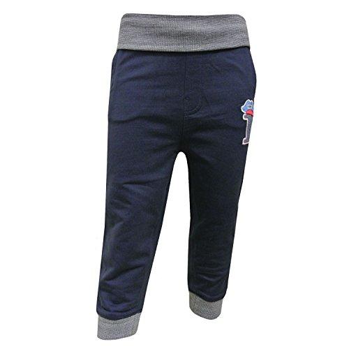 Zout en peper - Baby Jongens Joggerhose Sporthose, blauw-gevlekt - 73217115bm