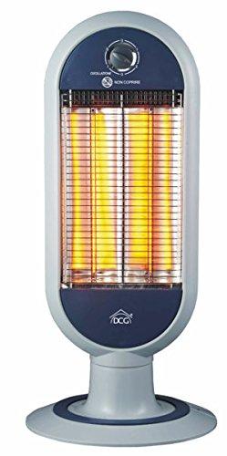 Stufa pannello radiante con 2 elementi in fibra di carbonio stufetta Dcg SA9829