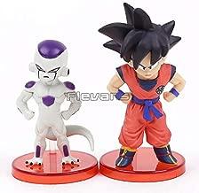 GrandToyZone Set Figure Series - 2pcs/Set Dragon Ball Figure - Son Goku VS Freeza - 8cm (3.1 inch)