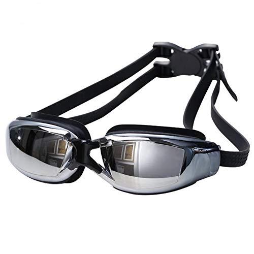 LLTT Elektroplating Waterdichte Anti-mist En Anti-UV Zwembril Verstelbare Elastische Zwembril Unisex Zwembril