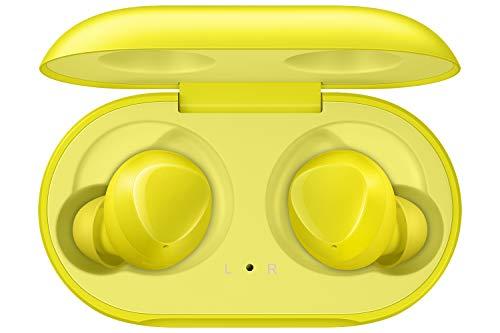 Samsung Galaxy Buds SM-R170NZYADBT I Kabellose Kopfhörer Gelb I Bluetooth I In-Ear I Stereo-Sport Headphones